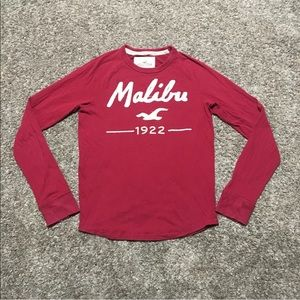 Hollister Men's Long Sleeve Embellished Malibu